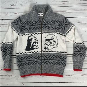Gap Star Wars zippered Knit Sweater